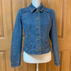 Ann Taylor Loft Denim Jacket 6